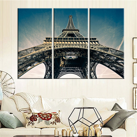 Image of Eiffel Tower Canvas Home Decor - TU