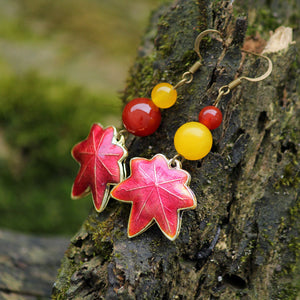 Maple Leaf Earrings - TU