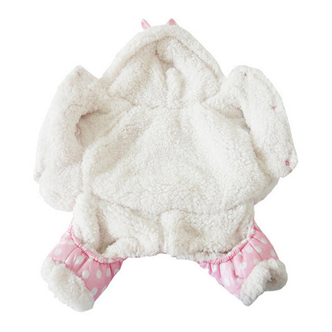 Image of Pet clothes winter warm soft short floss - TK
