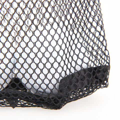 Image of Black Nylon Mesh Net Bag Pouch Golf - T
