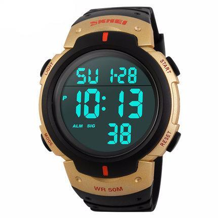 Image of Mens Sports Watches Dive 50m Digital LED - T