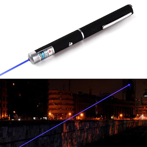 Image of Powerful Red/Purple 2 Colors Laser Pointer Pen - T