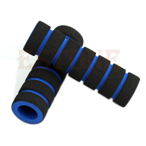 Image of 2Pcs Bike Racing Bicycle Motorcycle Handle Bar Foam Sponge Grip - T