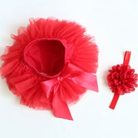 Image of Cotton Ruffle Bloomers Dress Baby's -T