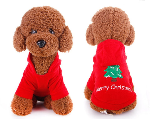Clothes Christmas Dog Coat Jacket Clothing Cute Puppy