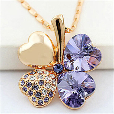 Image of Four Leaf Clover Necklaces