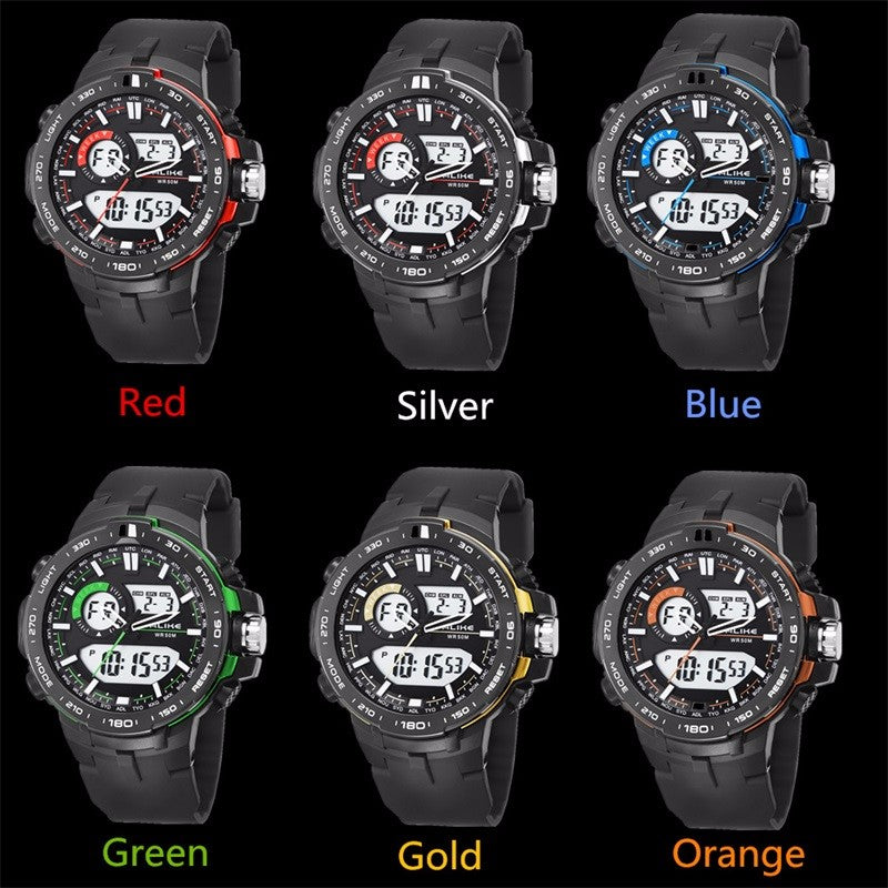 2017 New Digital Quartz Watch - TU