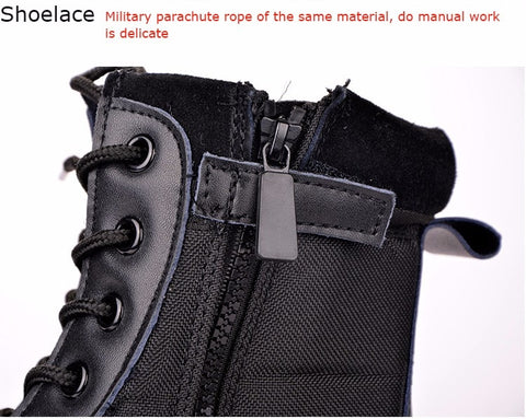 Image of Men's US Military Leather Boots - Infantry Tactical Boots