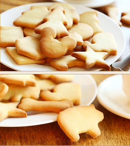 Image of 10Pcs/lot Aluminum Alloy Multi Shape Cookie - T
