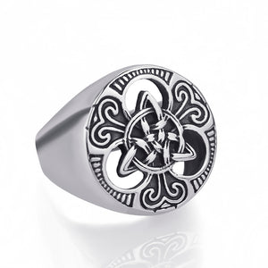 Celtic Knot Magic 316L Stainless Steel Ring - TR