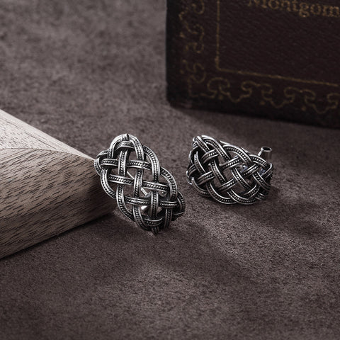 Celtic Vintage Stud Earrings - TU
