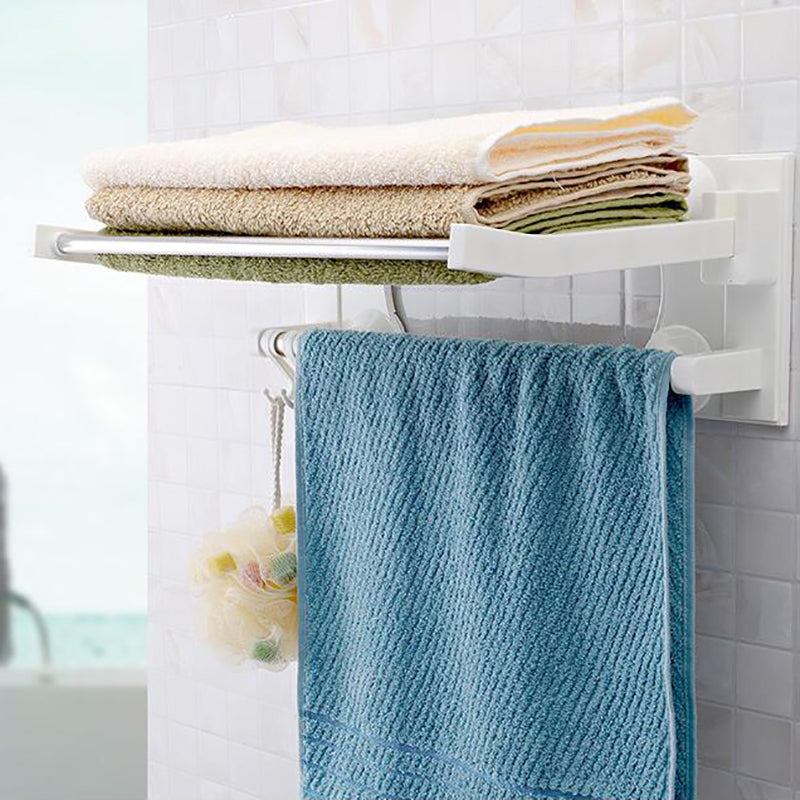 40cm Long Suction Cup Towel Bars Stainless Steel-TR