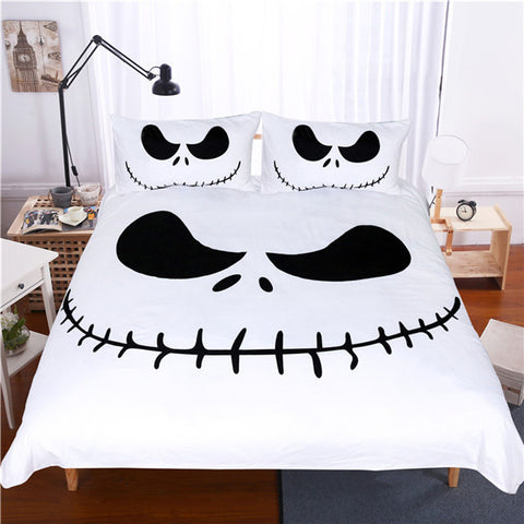 Image of Bedding Set Black and White, Nightmare -TR