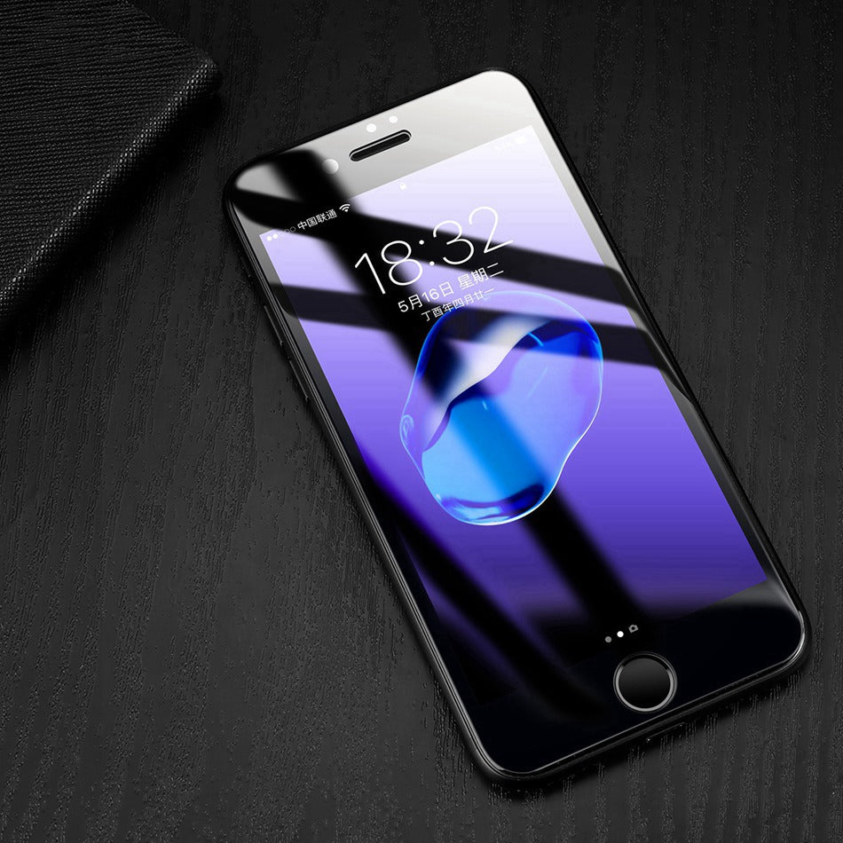 3D Full Screen Protector Tempered Glass For iPhone 7 6 6s - TU