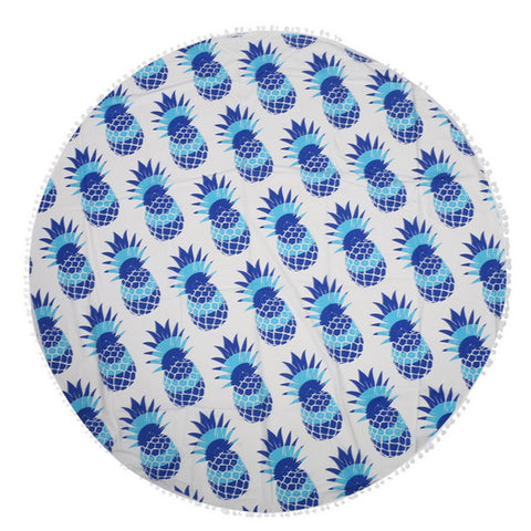 Image of Pineapple Outdoor Picnic Blanket - TU