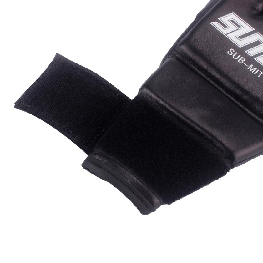 Men MMA Fighting Boxing Gloves Muay Thai - T