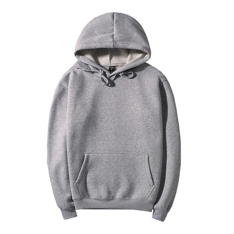 Image of 10 Color Basic Cotton Hooded - K