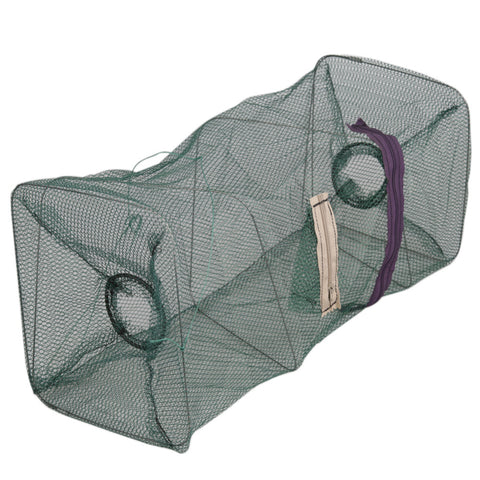 Crab Foldable Fish Net Crawdad Shrimp Minnow Bait Trap - T