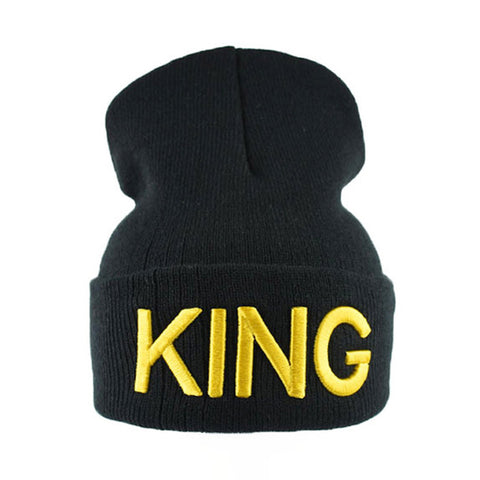 Image of King And Queen Couple Caps - M