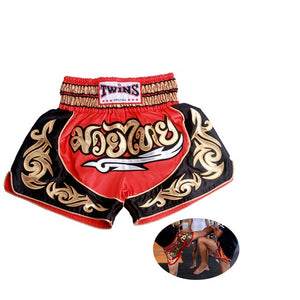 Short Man's Thai Boxing Shorts Muay Thai