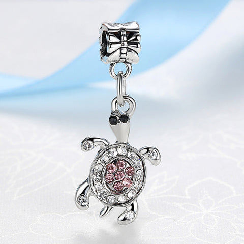 Sea Horse Turtle Owl With Full Crystal - K