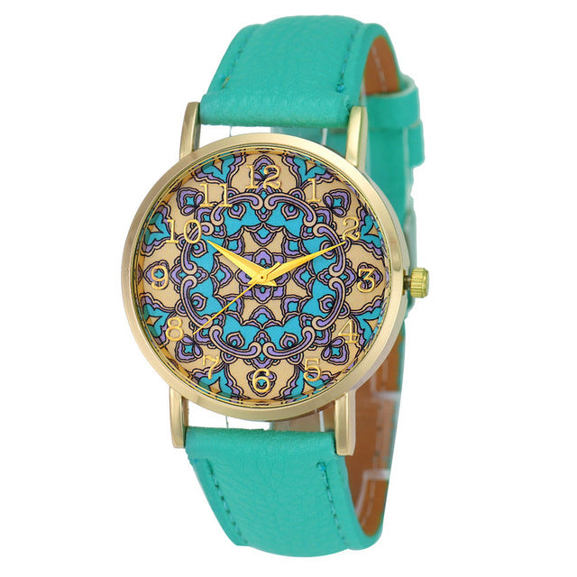 Retro Totem Dial Watches - K