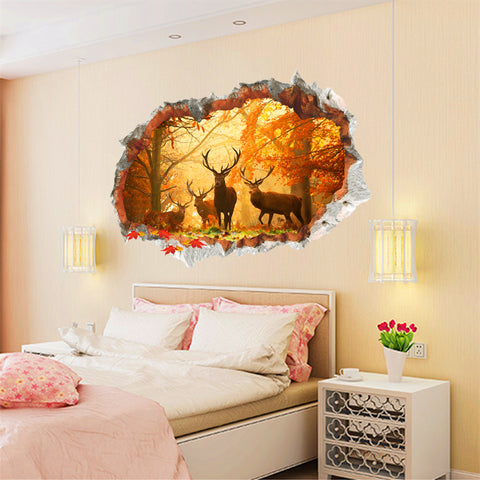 Maple Forest Wall Stickers - TU