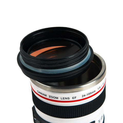 Image of Camera Lens Shape Cup
