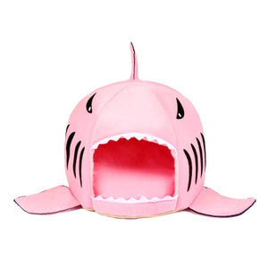 Warm Pets Bed Shark-mouth