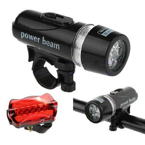 5 LED Bicycle Light Mountain - T