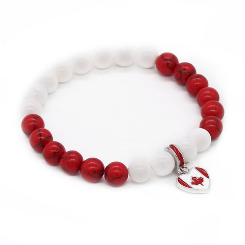 Image of Canada National Flags Bracelet - TU