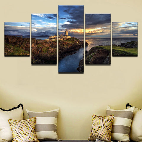 Ireland Canvas, Fanad Head Lighthouse - K