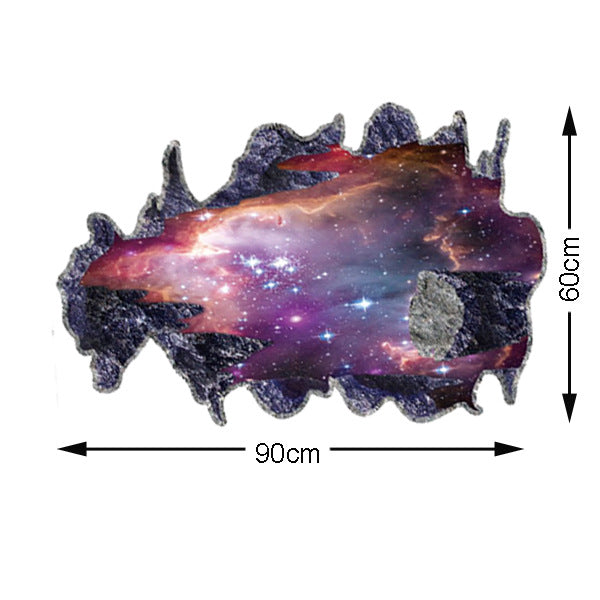3D Wall Stickers Cosmic Space Galaxy - K