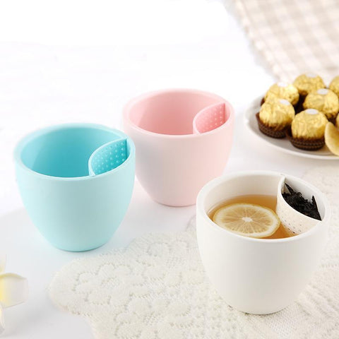 Tea Cup Water Mugs With Filter - K