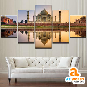 Taj Mahal Wall Art Canvas - M