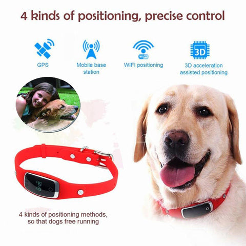 Silicon GPS Tracker For Pet Dog/Cat Locator Model S1