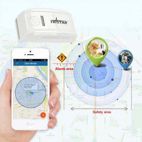 GPS Tracker For Pet Dog/Cat Locator Real Time Model LK909