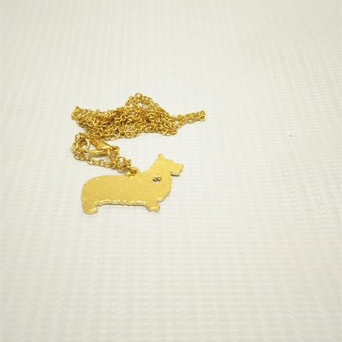 Wales Corgi Natural Dog Wales Necklace Pendant - N