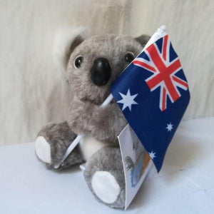 AUSTRALIA Cute Koala Plush Toy Flag Gift - Y7