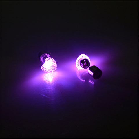 1 Pair Heart Shape LED - K