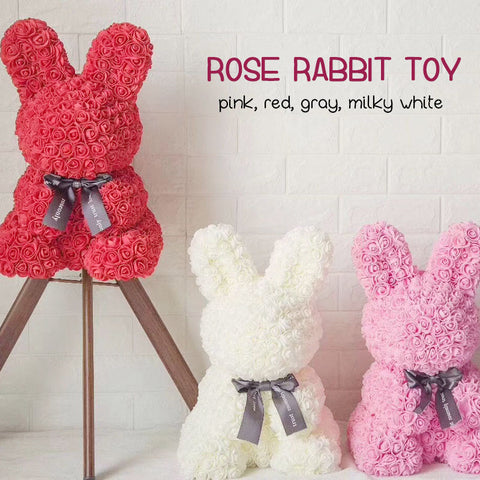 Dog/Bear/Rabbit Rose - Valentine Special Collection