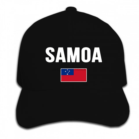 I Love Samoa Baseball/HipHop Cap - Y7