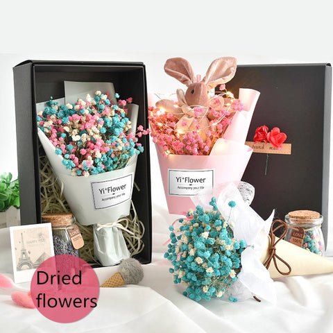 Handmade Dried Flower - Valentine Special Collection
