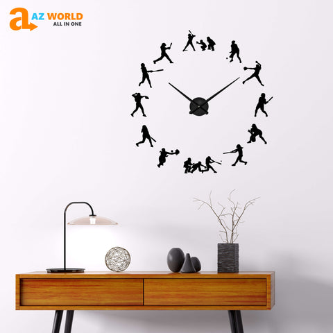 SOFTBALL DIY Wall Clocks - Special Product