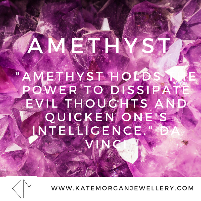 Why buy Amethyst- the hidden meaning in your Jewellery