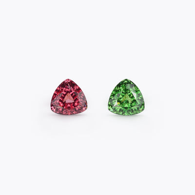 Spinel And Tsavorite  #218104