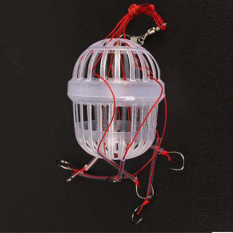 1Pcs New Arrival Fishing Tackle Sea Monster with Six Strong Spherical Fishing Hooks