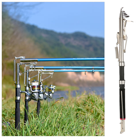 2.1 /2.4/ 2.7m Automatic Fishing Rod Without Reel - Sea, River, Lake, Pool Fishing Pole With Stainless Steel Hardware