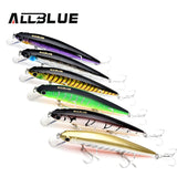 Best Quality Fishing Wobbler Suspend Minnow Bass Fishing Lures With 6# Owner Hooks peche isca artificial