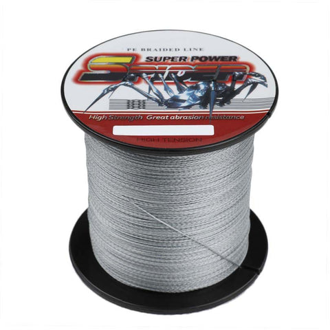 300M/330 Yards 6-100LB Multi filament PE Braided Fishing Line Material from Japan